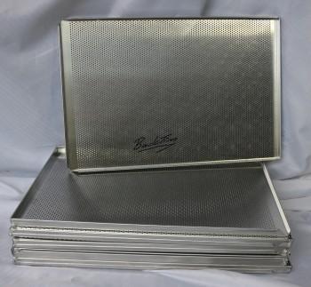 Противни перфорированные алюминиевые, 3 кромки НОВИНКА