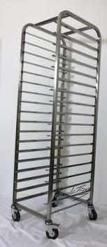 Транспортная тележка / тележка для морозильной камеры из нержавеющей стали для противней 60x40 НОВИНКА