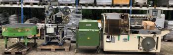 Машина для упаковки хлеба и этикетировочная машина