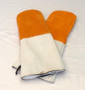 Кожаные перчатки для выпечки 2 пары (4 шт.)