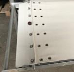 Тележка с 12 съемниками для духовок глубиной 220 см Частично НОВИНКА